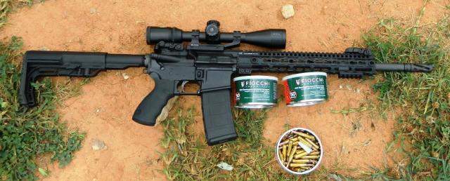 AR-15 and Ammunition