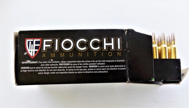 Fiocchi .223 Remington Ammunition