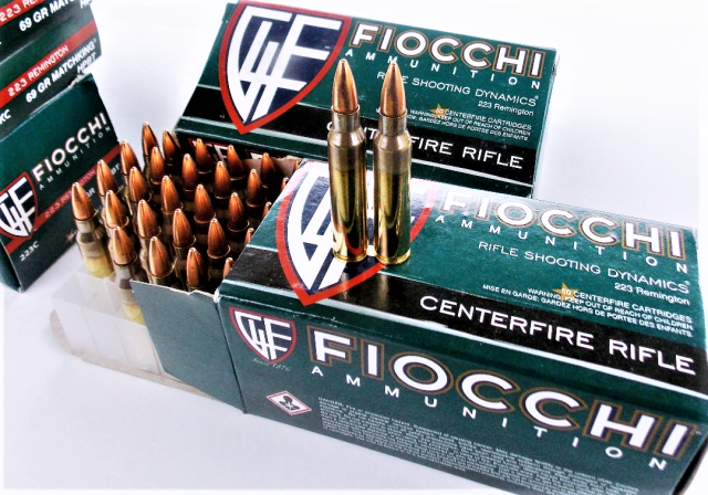 Fiocchi .223 Remington Ammo