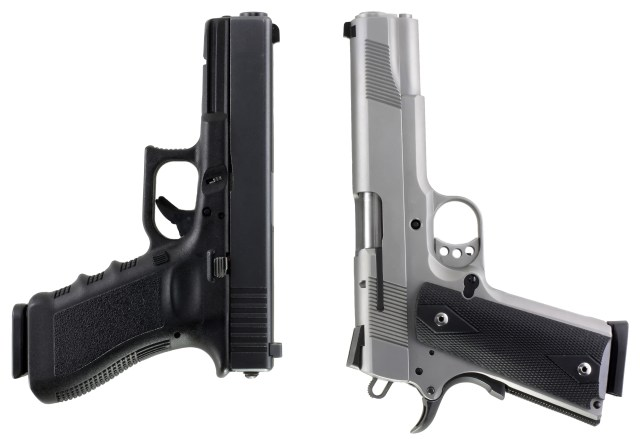 GLOCK 20 and 1911 Bear Gun Pistols - bear country