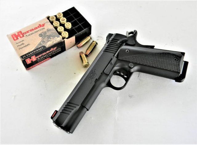 1911 and Hornady .45 ACP Defense Loads