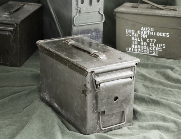 Military Surplus Ammo in Ammo Can