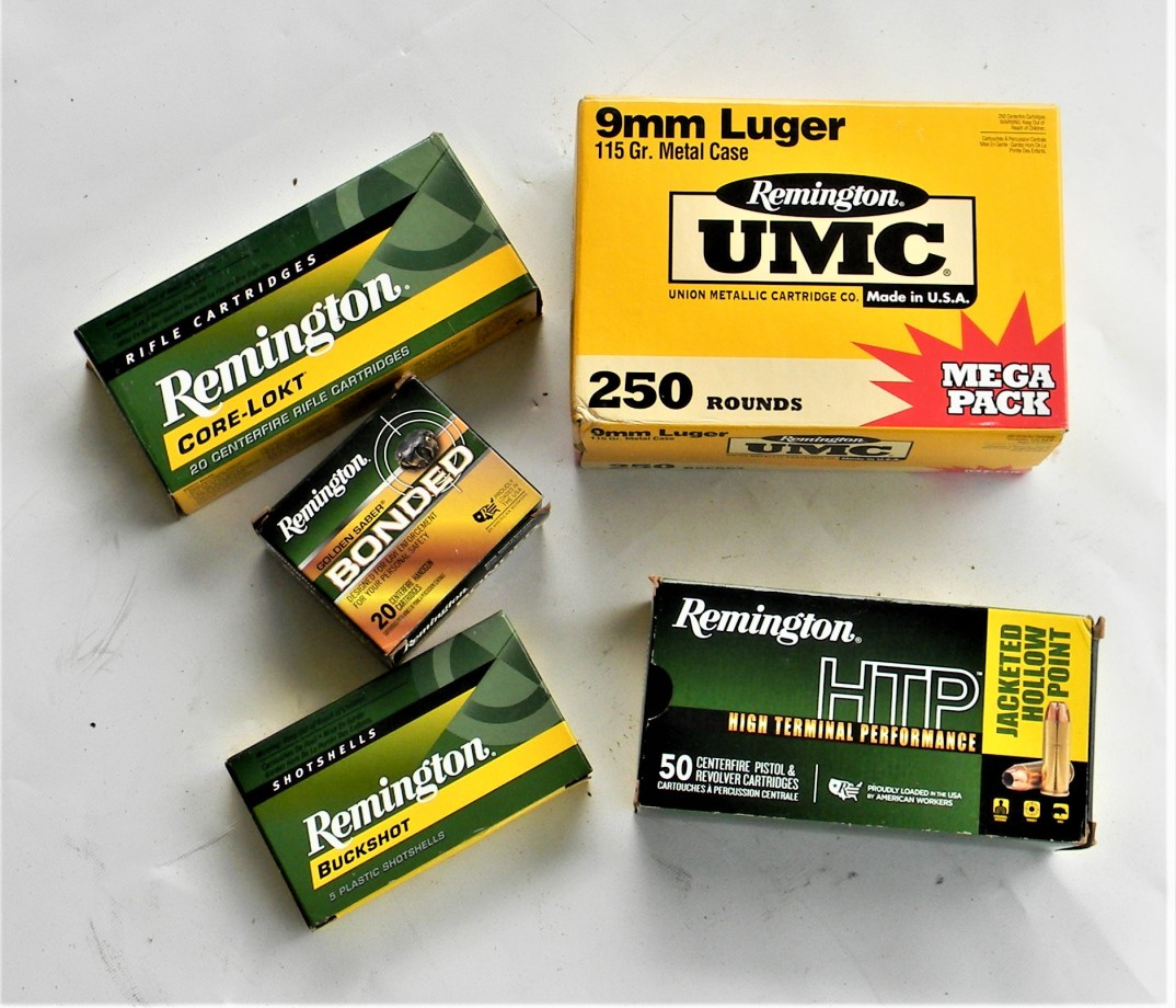 5 Remington loads