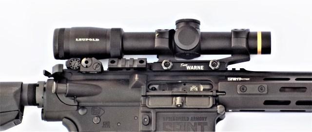Leupold Scope on AR-15 Rifle