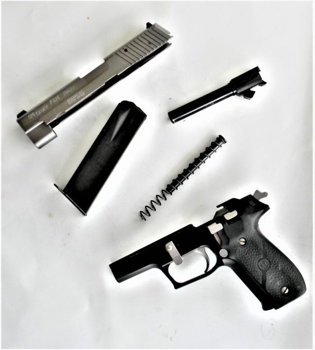 Fieldstripped SIG P226