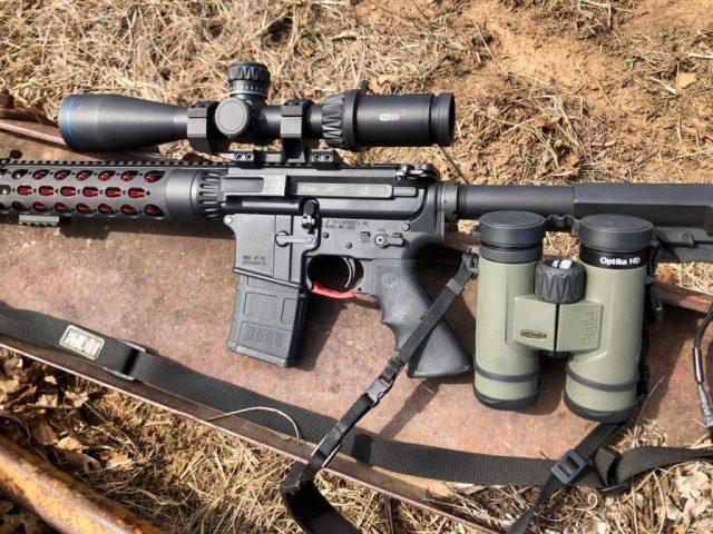 Meopta AR-15 Optics and AR-15 Rifle