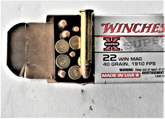 Winchester .22 Magnum Ammo