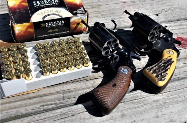 Federal .38 Special Ammo and Colt revolvers