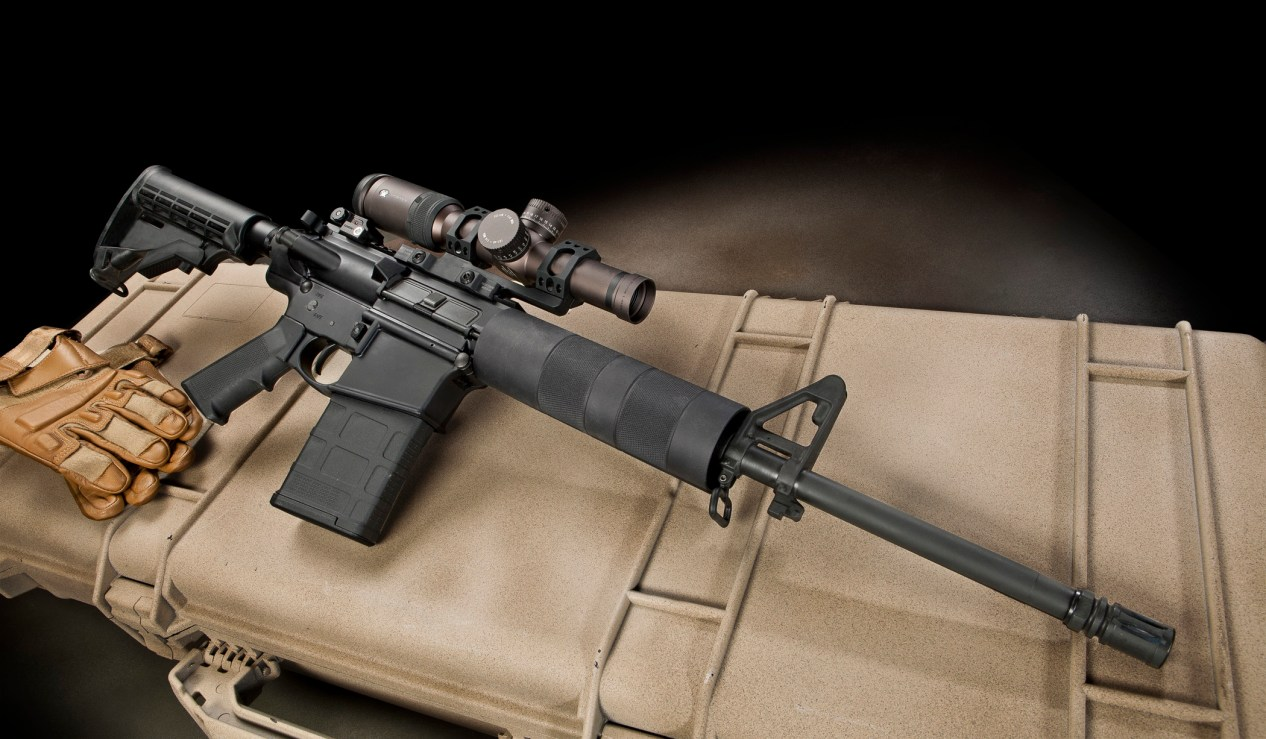 sighting-in a rifle AR-10