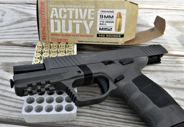 Winchester Active Duty and Pistol