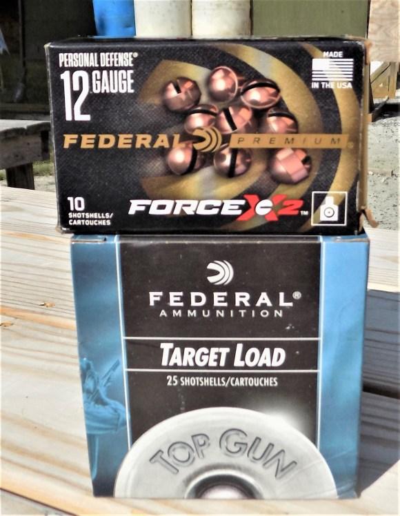 Federal 12-gauge ammo