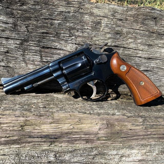Smith and Wesson Revolver Blued