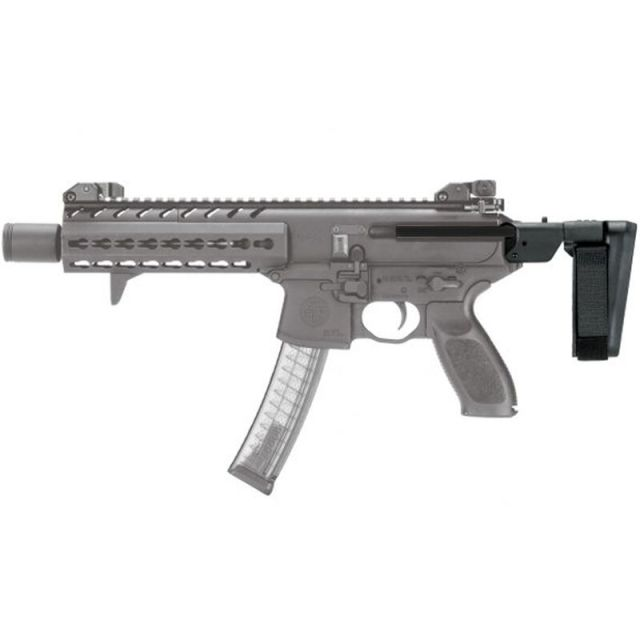 SIG MPX with pistol braces