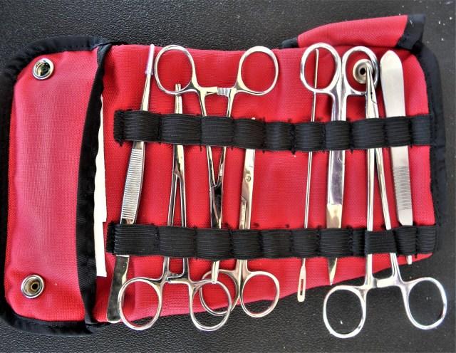 trauma shears kit for gunshot wounds