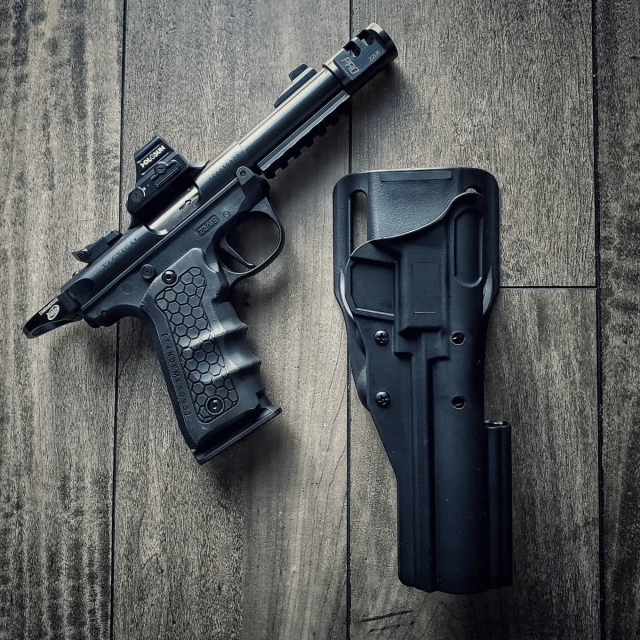 .22 Pistol and Holster