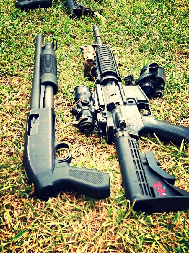 trade-in gun shotgun and AR-15