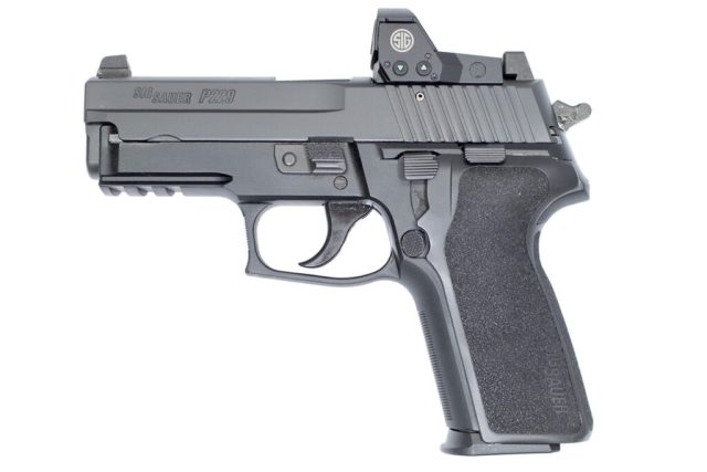 SIG P229 with Red Dot Sight with decocker