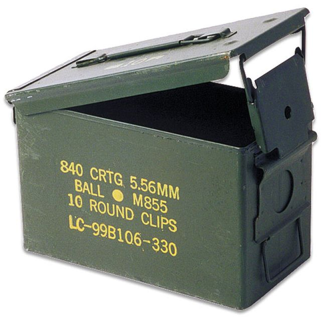 Mil-Spec Ammo Can