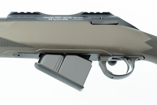 rifle with box magazine