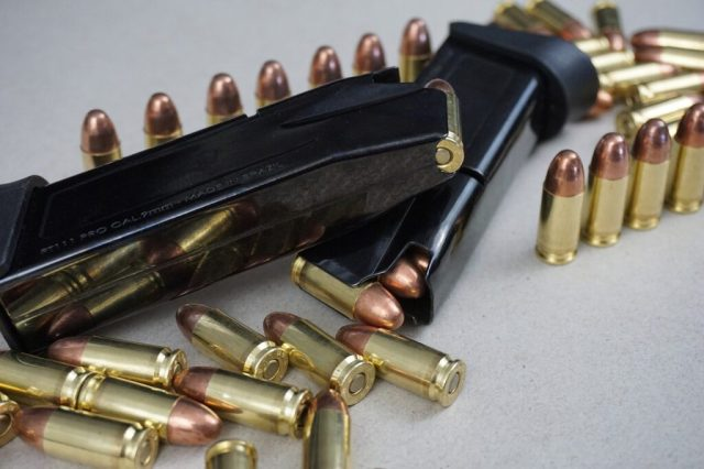 Pistol Mags and Ammunition