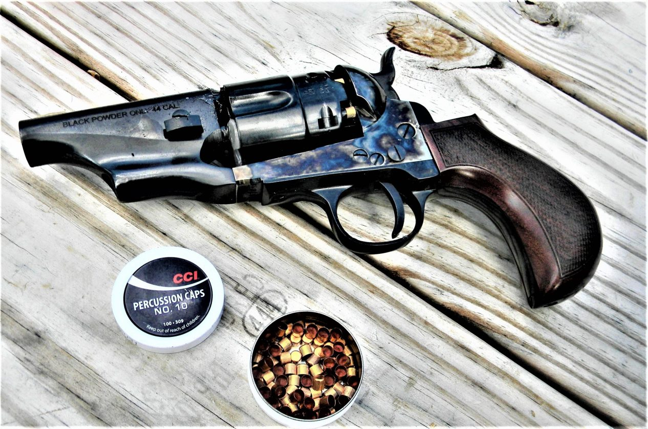 Black Powder Snubnose Revolver