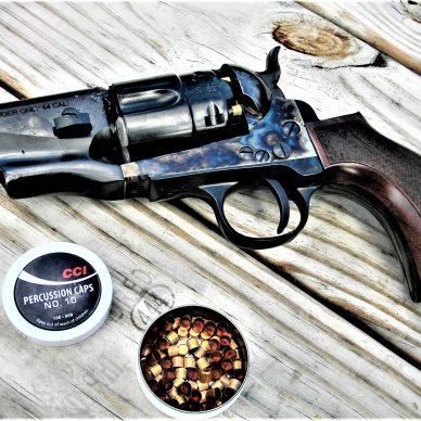 Black Powder Snubnose Revolver