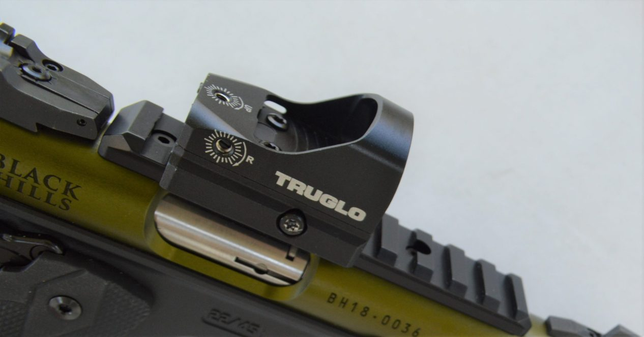 TRUGLO Red Dot Sight on Ruger .22 Pistol