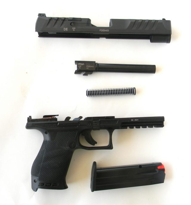 Fieldstripped Walther PDP
