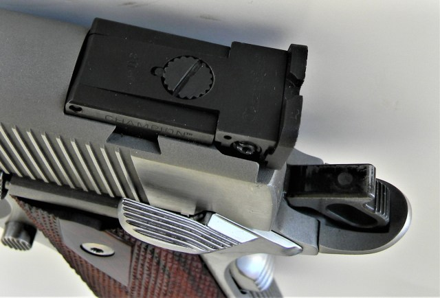 Dan Wesson 1911 Adjustable Sights