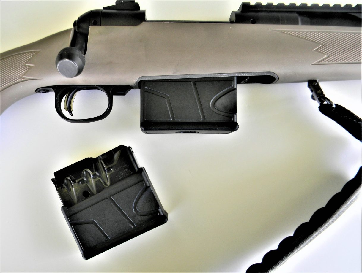 Savage Scout Rifle with Magazine