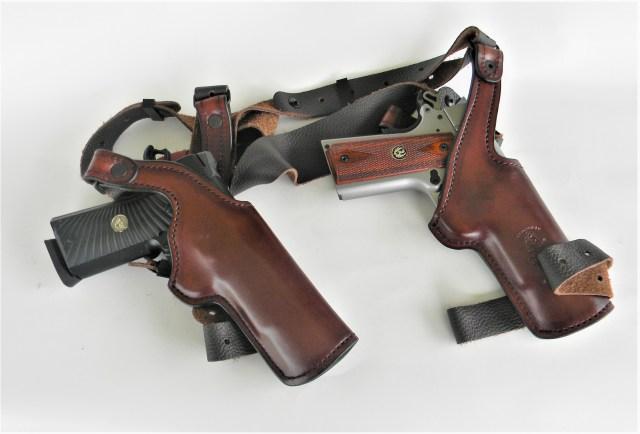 1911s in Shoulder Holster milk run guns