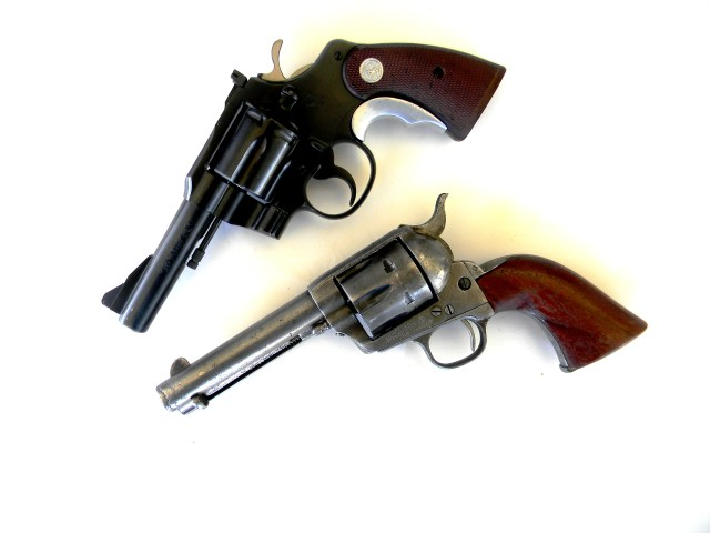 Colt and S&W Magnums