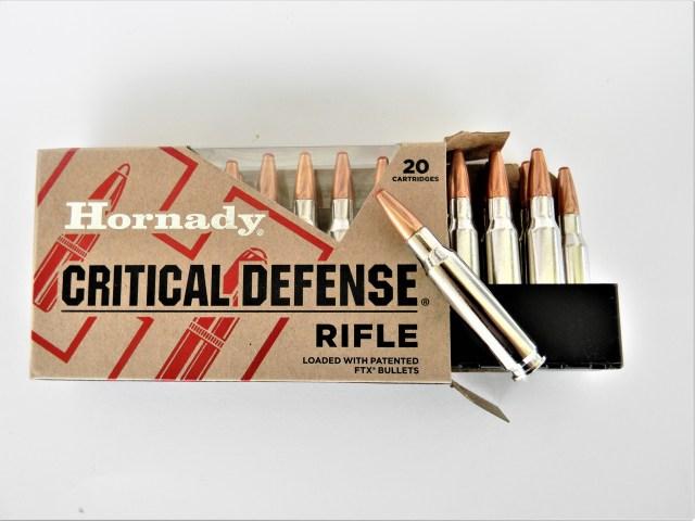 Hornady Defense Ammunition Rifle Ammo