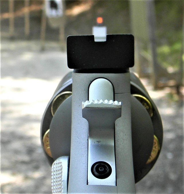 Taurus 627 Tracker Sights