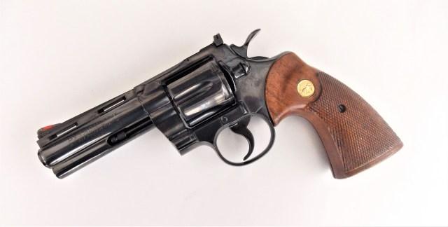 Old Blued Revolver