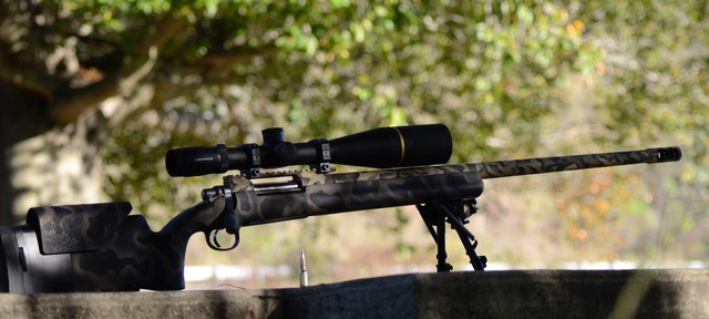 Rifle on Bipod