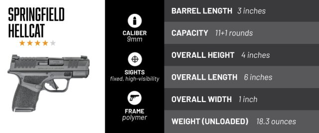 Springfield Armory Hellcat is one of the best concealed carry options today