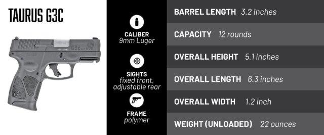 Taurus G3c Concealed carry gun