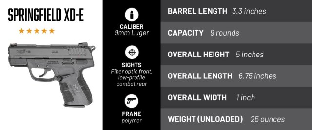 Springfield XD-E Handgun