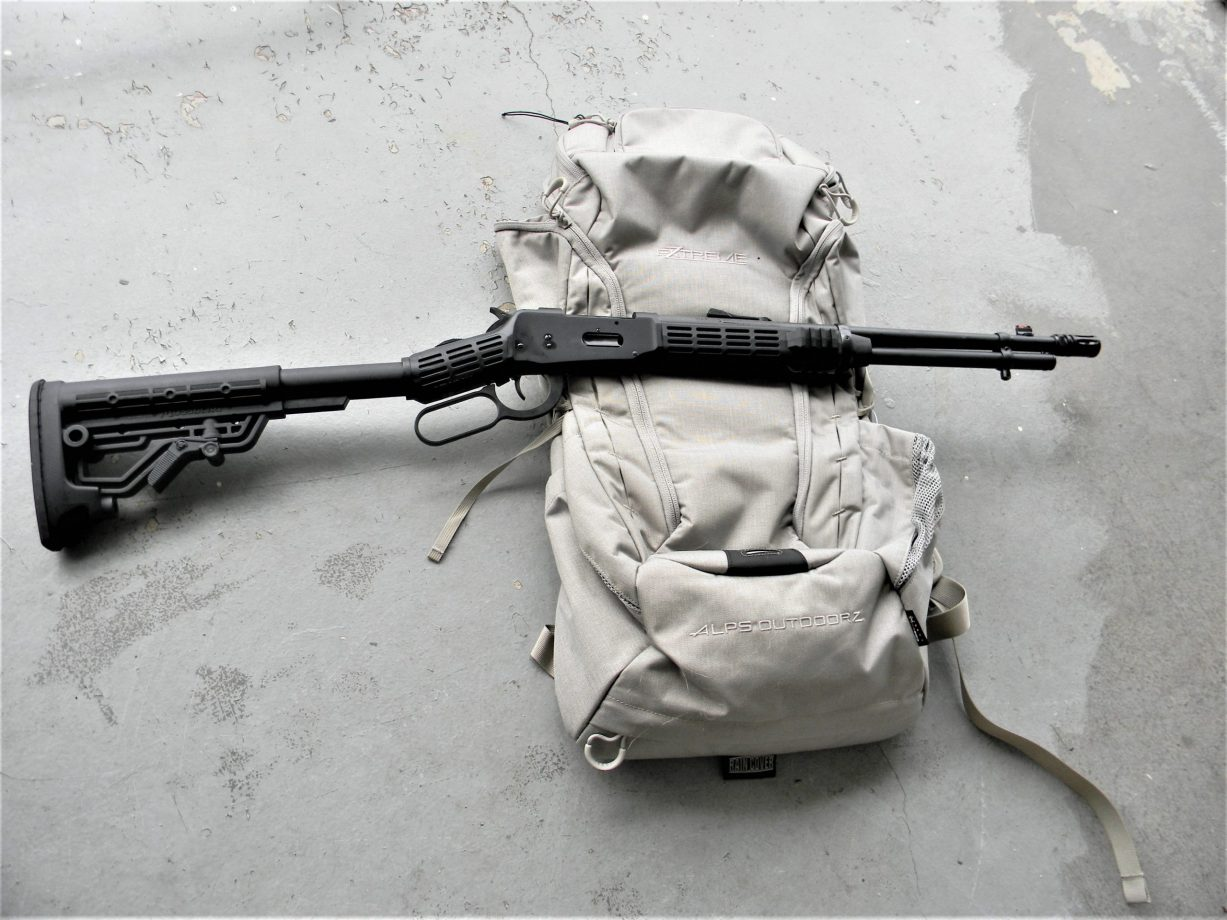 Mossberg 464 SPX lever-action rifle