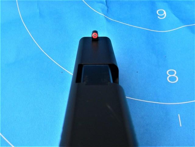 GLOCK pistol sights aim faster