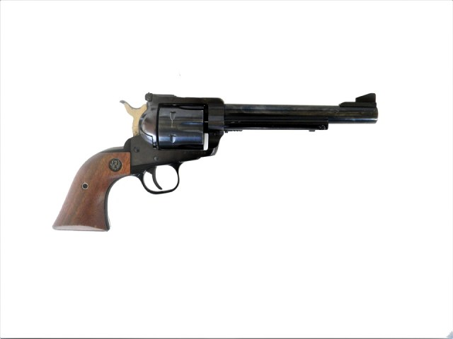 Ruger Blackhawk .357 magnum right profile