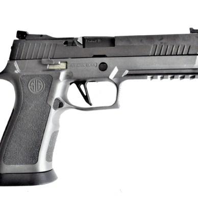 SIG Sauer P320 X Five pistol right profile