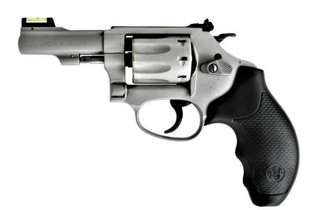 Smith and Wesson Model 317 Lite revolver left profile
