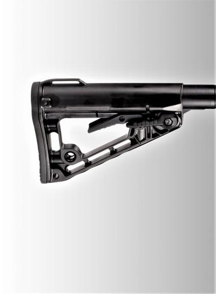Adjustable butt stock from Wilson Combat