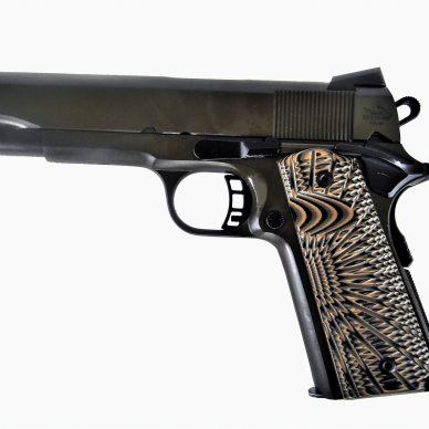 RIA FS 1911 pistol with g10 grips .45 ACP right profile