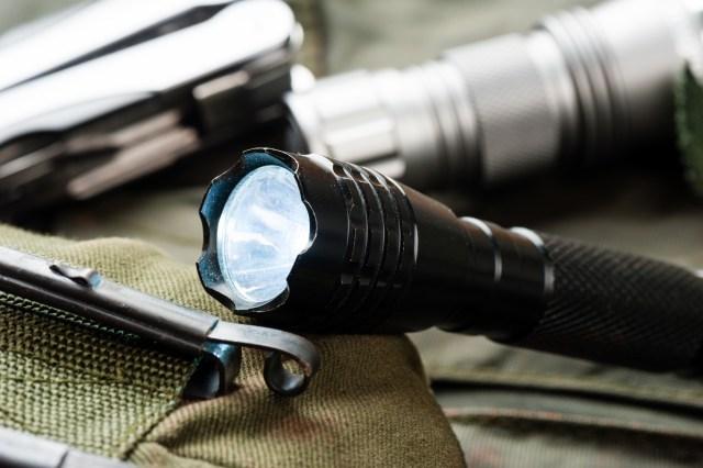 pocket flashlight for Everyday Carry (EDC) disaster preparedness