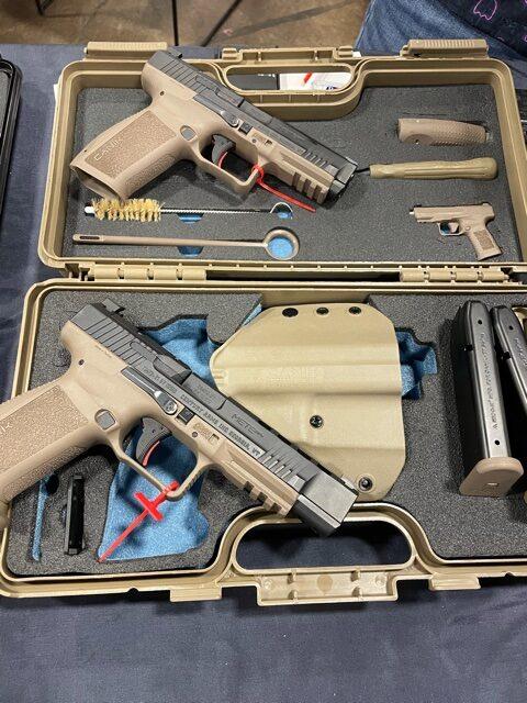 Canik Mete pistols