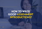 good assignment introductions