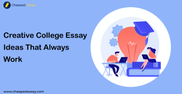 college essay ideas to come up with
